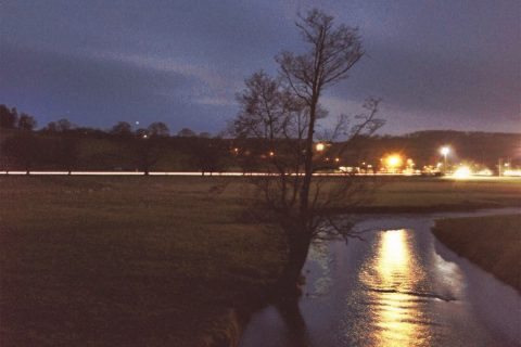 Ruthin Cae Ddol at Night   Featured Image   thefrozendivide