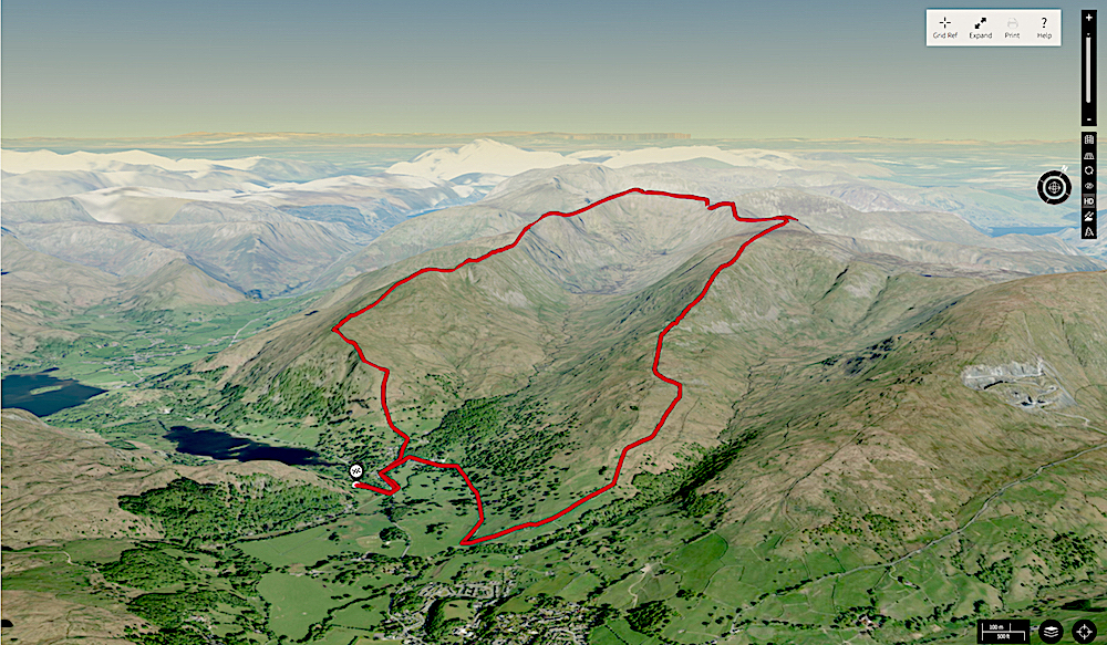 Fairfield Horseshoe Walking Loop 3D