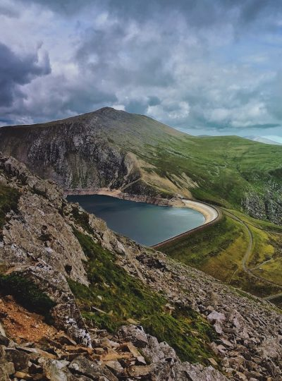 All Things Swept Aside | Snowdonia Canvas Print 1