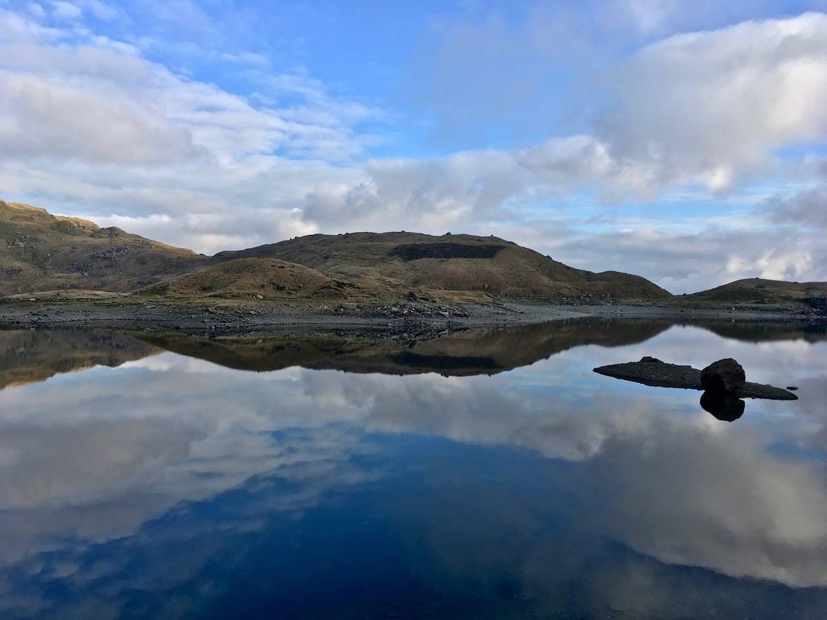 Llyn Llydaw Reflections 3   Snowdonia   thefrozendivide