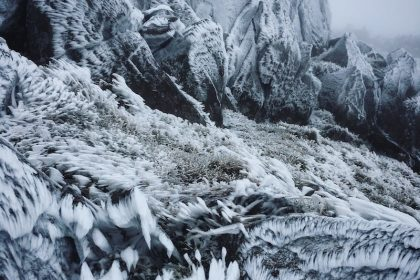The Importance of Frost | Snowdonia Canvas Print