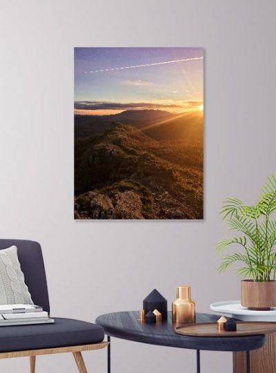 The Passing of Greed Lake District Canvas Print 03