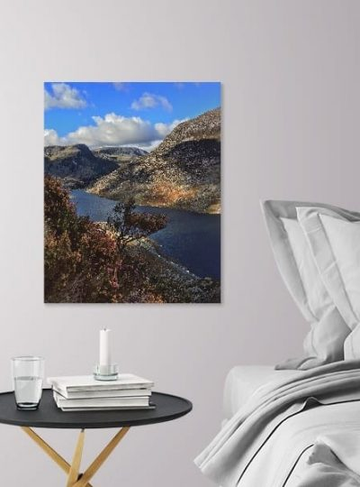 The Spirit Blossoms All Over The Land | Snowdonia Canvas Print