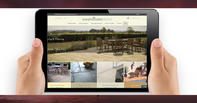 Wordpress Website Design | Westminster Stone | The Frozen Divide Ltd