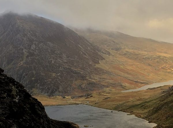 Devils Kitchen & Y Garn Trail Route for Hiking & Running Snowdonia